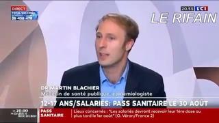 🔥MARTIN BLACHIER LE BOUFFON DE #BIGPHARMA EN DÉLIRE VEUT LA GUERRE TOTALE CONTRE LES ANTI-VAxX