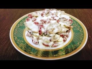 Удивительно вкусный салат из самых простых продуктов