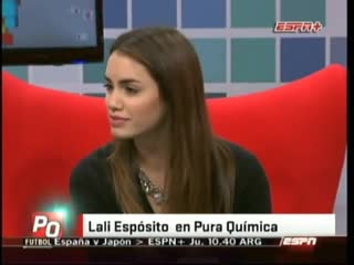 Lali Esposito en Pura Quimica (25-07-2012)