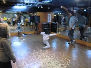 HIP HOP DANCE LES TWINS workshop in Osaka Japan