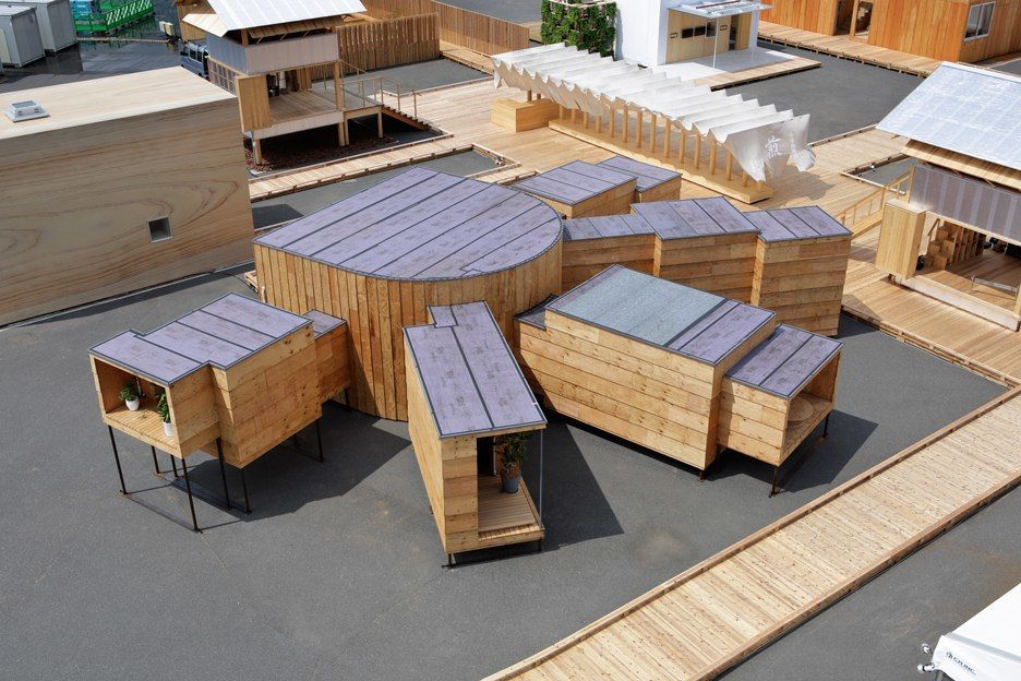Japanese architects including Sou Fujimoto, Atelier Bow-Wow, Kengo Kuma and Shigeru Ban have all designed houses of the future for a Tokyo exhibition