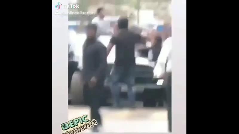 Kakinada fan hungama Alluarjunarmy AlluArjun