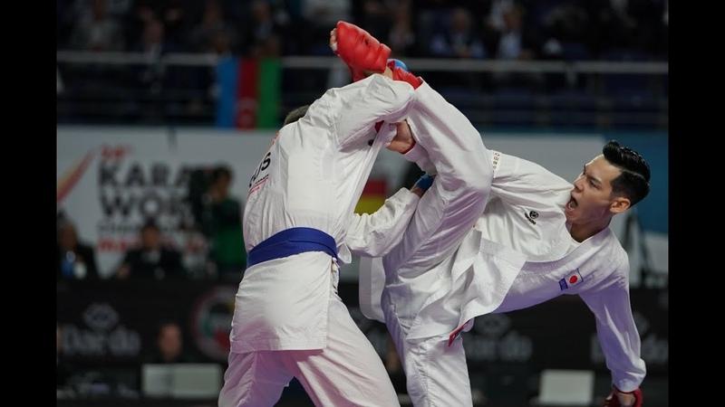 Steven Da Costa vs Ken Nishimura 67kg vs 75 kg BEST OF THE BEST KARATE FIGHTERS
