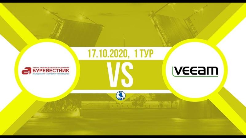 Чемпионат Дивизион Юг Буревестник Veeam 6 0 полный матч