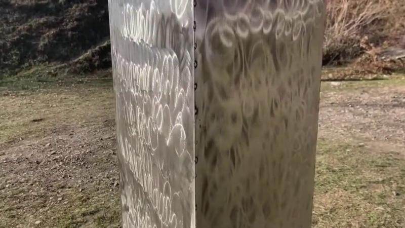 В Румынии обнаружили загадочный монолит, похожий на американский