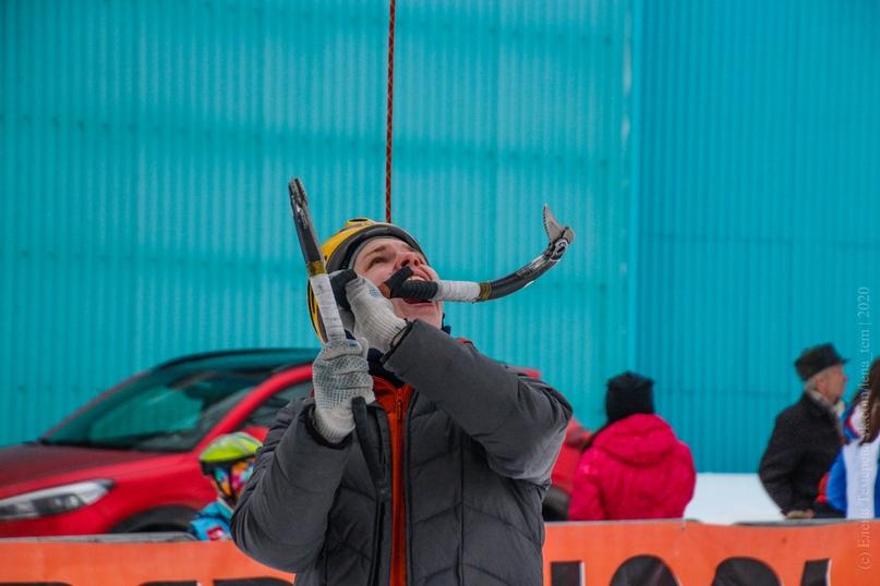 Главные отечественные ледолазные старты сезона финишировали в городе Кирове в минувшие выходные – чемпионат и первенство России по альпинизму. Всем было что доказывать и что терять…, изображение №110