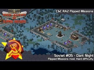C&C Red Alert 2 Flipped Missions - Soviet #05 Dark Night - Hard Difficulty
