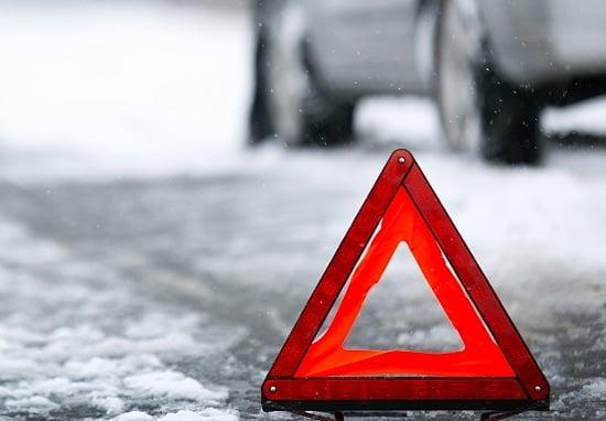 Госавтоинспекция просит автолюбителей воздержаться от поездок во время снегопада