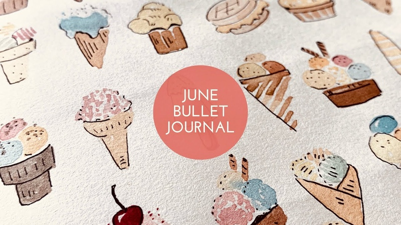 Dondurma Temali Haziran Ajandasi - June Bu-Jo