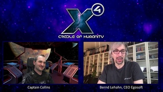 Интервью с директором Egosoft - X4 Foundations: Cradle of Humanity - Патч 4.0 - Часть 2.