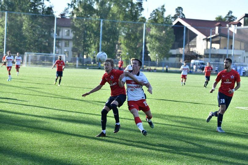 «Спартак-2» уступил «СКА-Хабаровск» в контрольном матче (Видео)