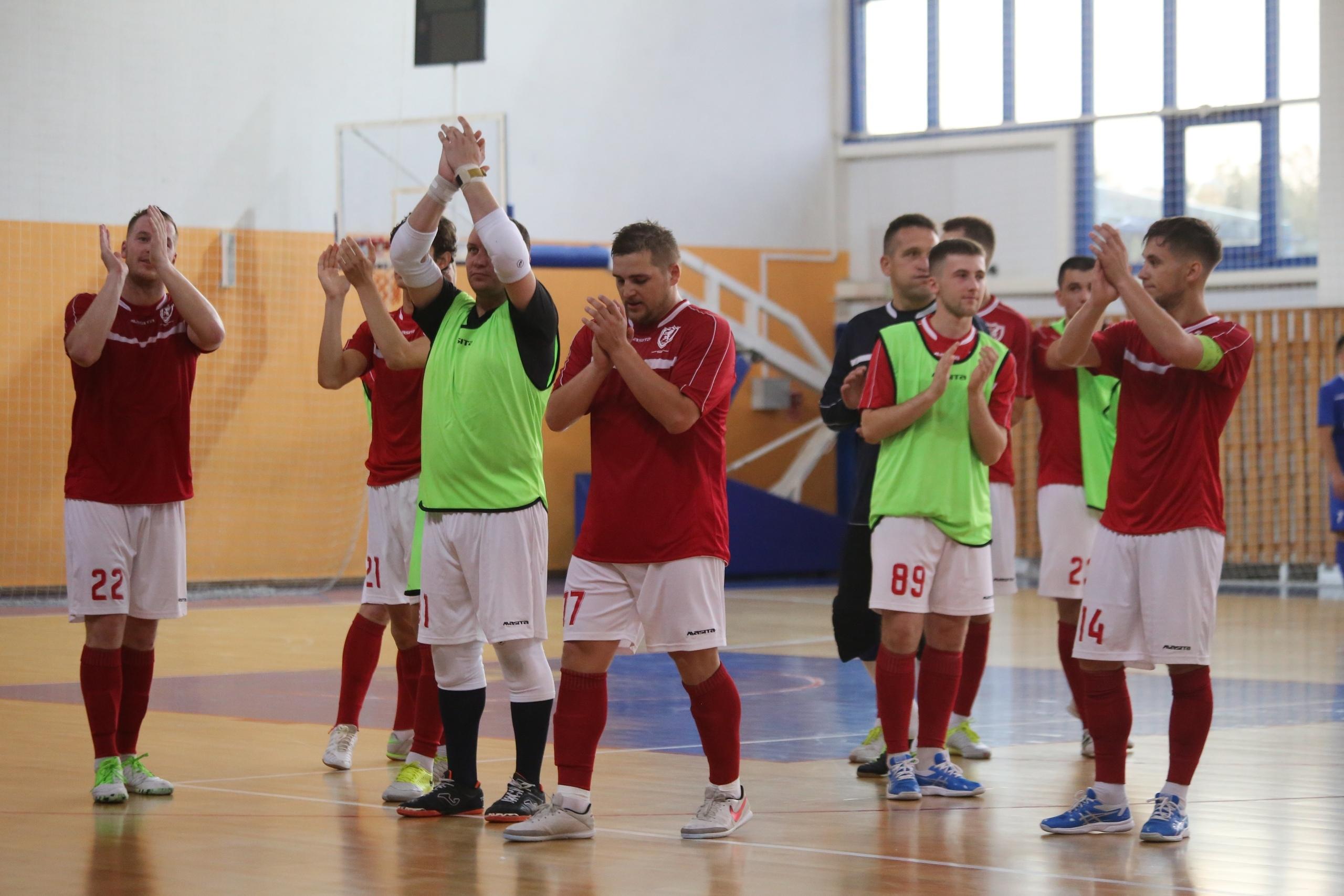 Мини-футбольный клуб «Лида» занимает 8-е место в турнирной таблице.