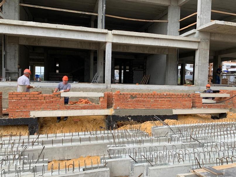 Отчёт по этапам строительства Жилого комплекса Горизонт, изображение №2