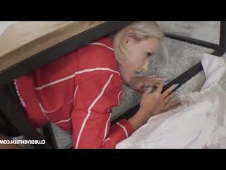 Застряла Angel Wicky (девочка брюнетка блондинка сестра спит подруга студентка фитоняшка узкая молодая pov solo худая 2020 брат)