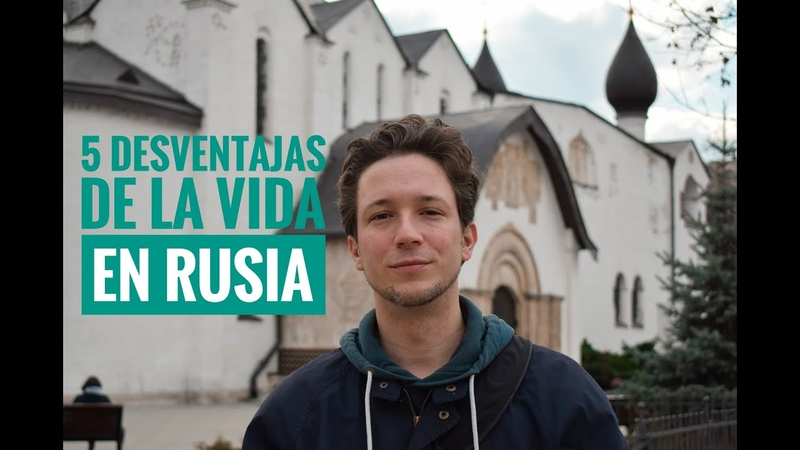 5 cosas TERRIBLES de VIVIR en RUSIA