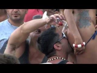 TEKNO @ SUPER PARADISE OFFICIAL VIDEO SUMMER PARTY mykonos