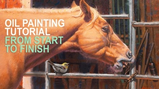 OIL PAINTING DEMO FROM START TO FINISH THE STOOL PIGEON