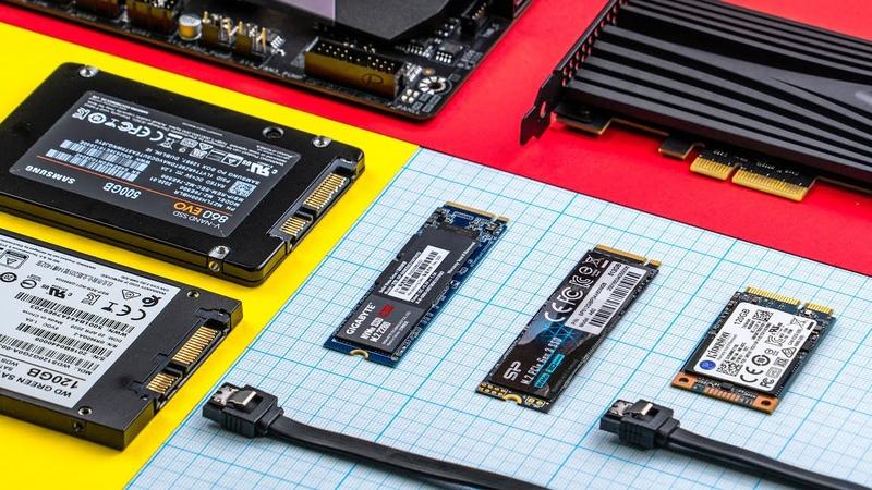Полный гайд по SSD накопителям SATA M 2 QLC TLC MLC NVMe mSATA 3D NAND